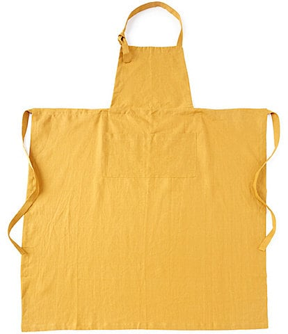 Southern Living Linen Apron with Adjustable Neck Strap