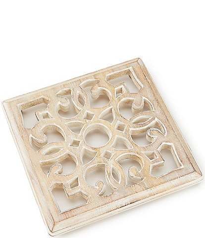 Southern Living Mango Wood Large Trivet