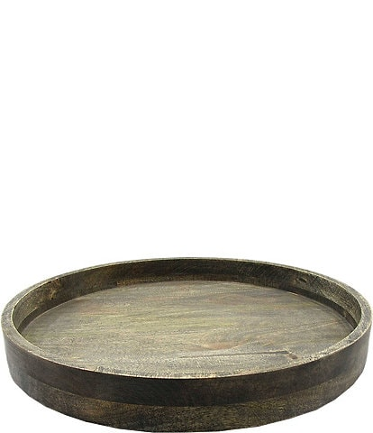 Southern Living Mango Wood Lazy Susan