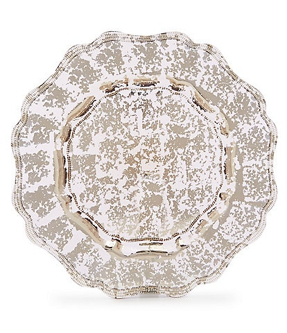 Southern Living Mercury Glass Retro Charger Plate