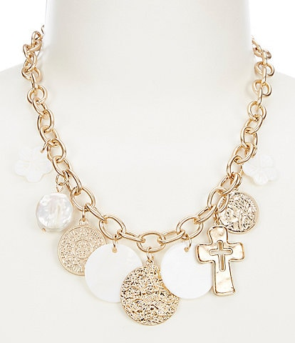 Southern Living Mixed Charm Necklace