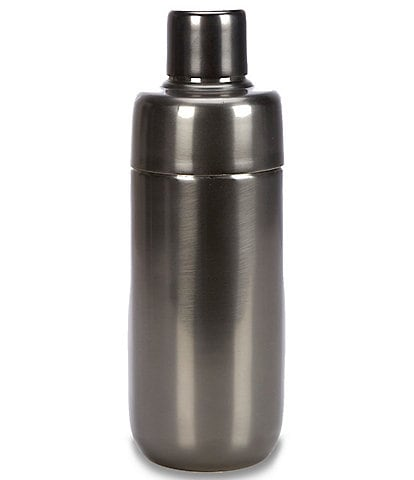 Southern Living Modern Grey Stainless Steel Cocktail Shaker