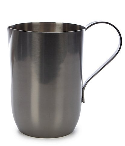 Southern Living Modern Grey Stainless Steel Pitcher