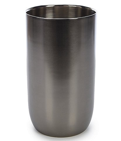 Southern Living Modern Grey Stainless Steel Wine Chiller