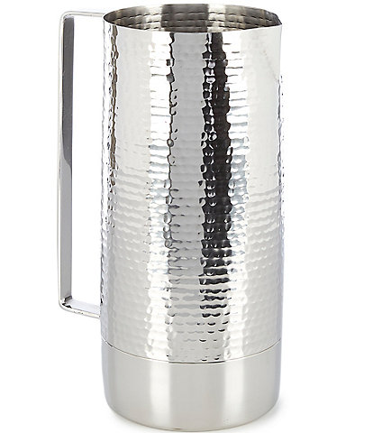 Southern Living Modern Hammered Pitcher