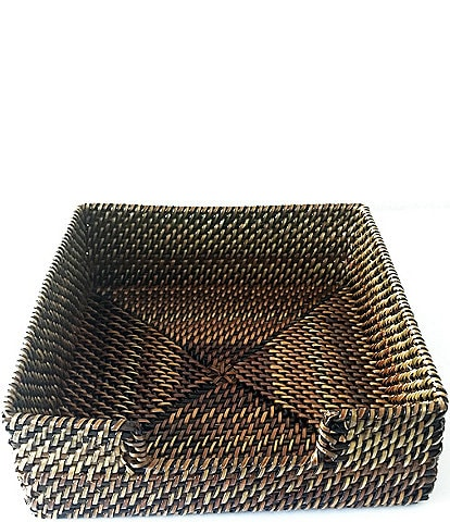 Southern Living Festive Fall Collection Nito Woven Napkin Holder