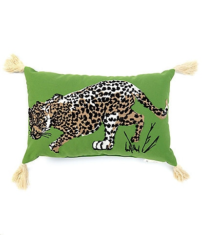 Southern Living Outdoor Living Collection Jaguar Indoor/Outdoor Pillow
