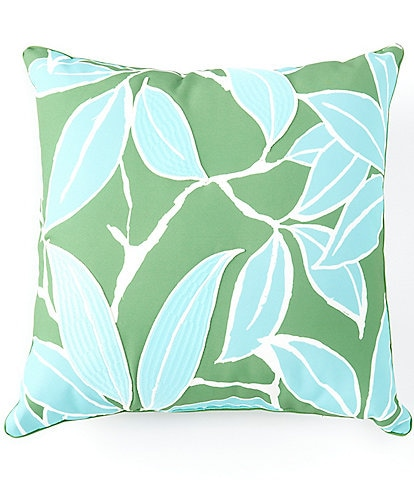 Southern Living Outdoor Living Collection Victoria Embroidered Floral Indoor/Outdoor Pillow
