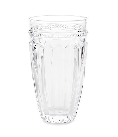 Southern Living Ribbed Highball Glass