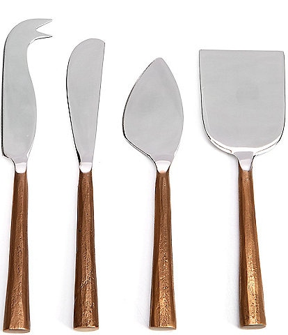 Southern Living Rose Gold Cheese Tool Set