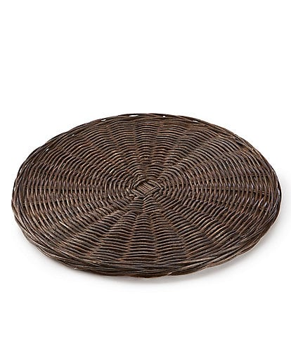 Southern Living Spring Collection Round Wicker Charger