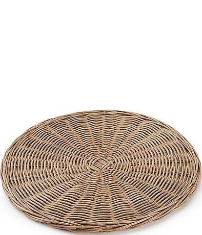 Southern Living Round Wicker Charger