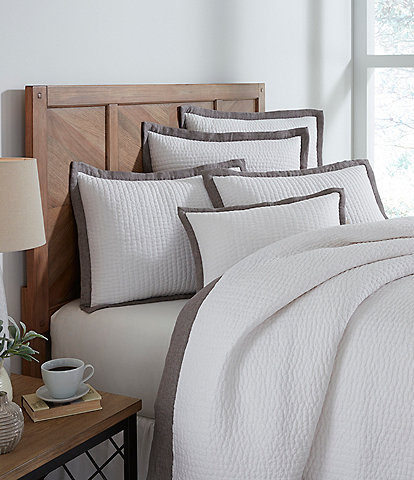 Southern Living Simplicity Collection Addison Taupe Coverlet
