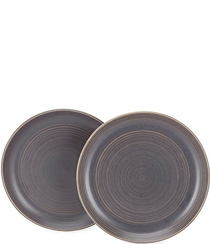 Southern Living Simplicity Speckled Salad Plates, Set of 2