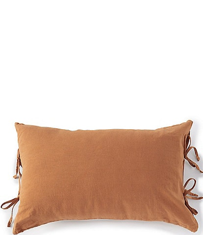 Southern Living Simplicity Collection Garrison Washed Linen & Cotton Breakfast Pillow
