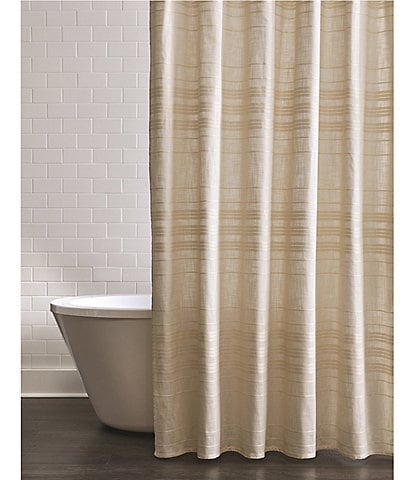 Southern Living Simplicity Collection Hudson Stripe Shower Curtain