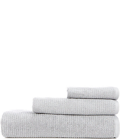 Southern Living Simplicity Collection Hudson Zero Twist Round Corner Bath Towels