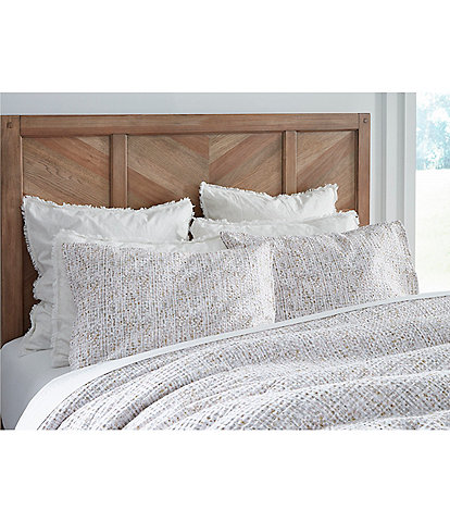Southern Living Simplicity Collection Reese Lightweight Matelasse Comforter