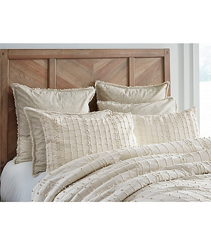 Southern Living Simplicity Collection Riley Embroidered Comforter