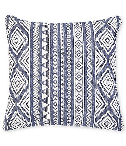 Southern Living Simplicity Collection Sutton Fringe Trim Square Pillow