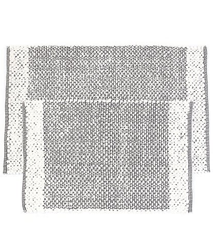 Southern Living Simplicity Collection Tanner Handloomed Textured Bath Rug