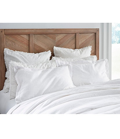 Southern Living Simplicity Collection Taylor Textured Cotton Duvet Cover