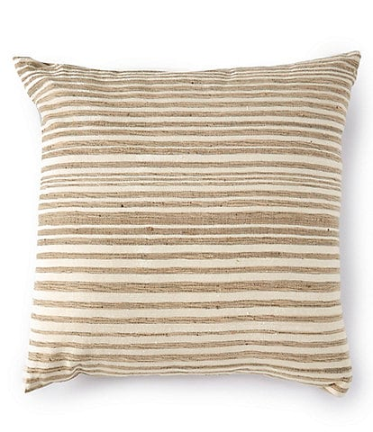 Southern Living Simplicity Collection Wool & Silk Square Pillow