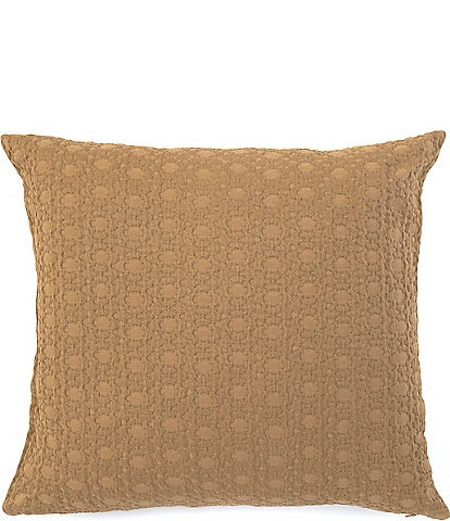 Southern Living Simplicity Natural Dyed Textured Square Pillow