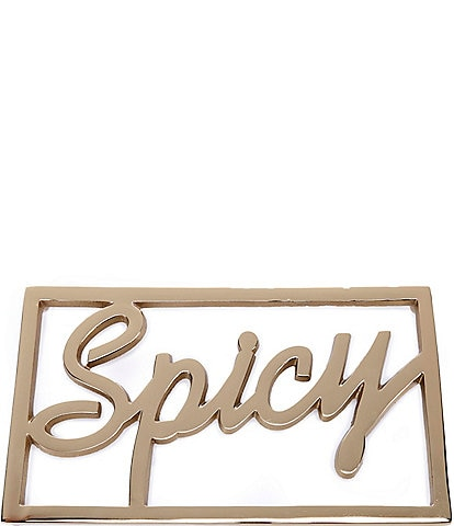 Southern Living #double;Spicy#double; Word Trivet