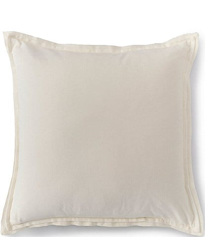 Southern Living Spring Collection Velvet & Linen Oversize Square Pillow
