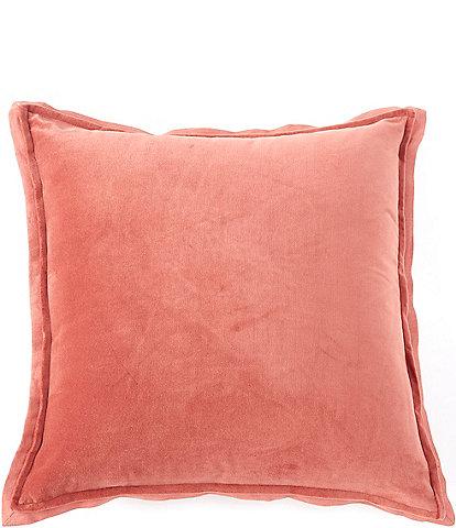 Southern Living Velvet & Linen Oversize Square Pillow