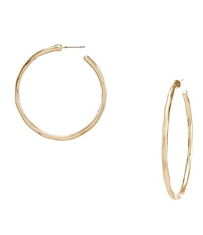 Southern Living Thin Hoop Earrings
