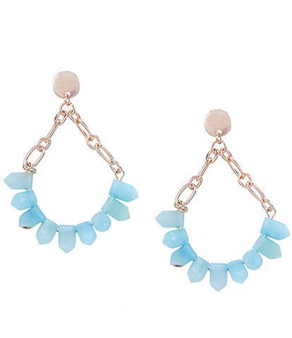 Southern Living Turquoise Chandelier Earrings