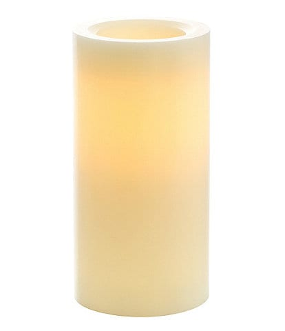 Southern Living Vanilla-Scented 4#double; Flameless Candle