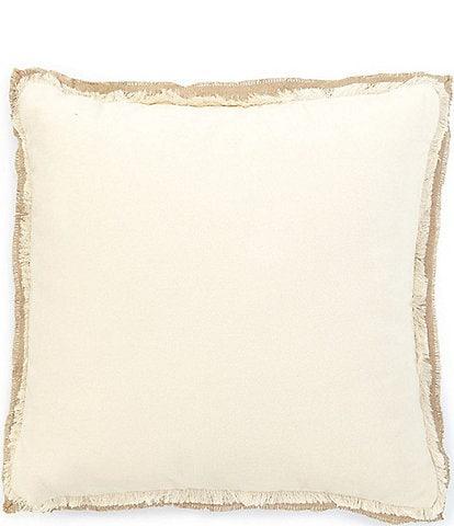 Southern Living Velvet Square Pillow