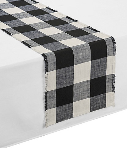 Southern Living Wide Buffalo Check Runner