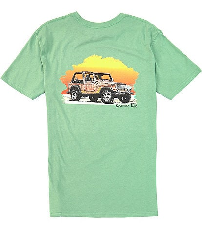 Southern Lure Short-Sleeve Jeep Graphic Pocket Tee