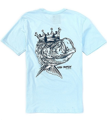 Southern Lure Short-Sleeve King Tarpon Graphic Pocket Tee