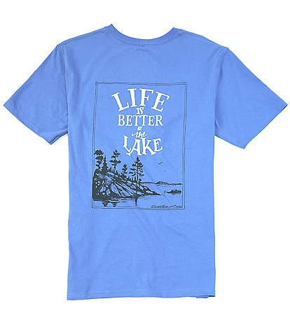 Southern Lure Short-Sleeve Lake Life Graphic Pocket Tee