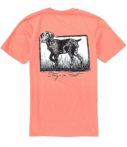 Southern Lure Short-Sleeve Stay On Point Graphic Pocket Tee