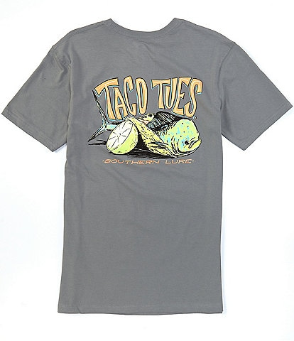 Southern Lure Short-Sleeve Taco Tuesday Graphic Pocket Tee