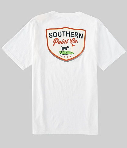 Southern Point Men's Dog Golf Short-Sleeve T-Shirt