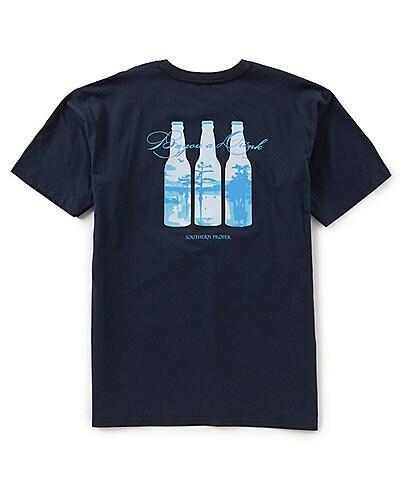 Southern Proper Men's Bayou Drink Short-Sleeve Pocket T-Shirt