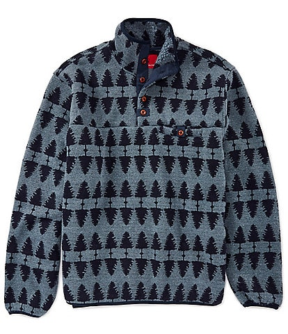 Southern Proper Forest Long-Sleeve Sherpa Lined Pullover