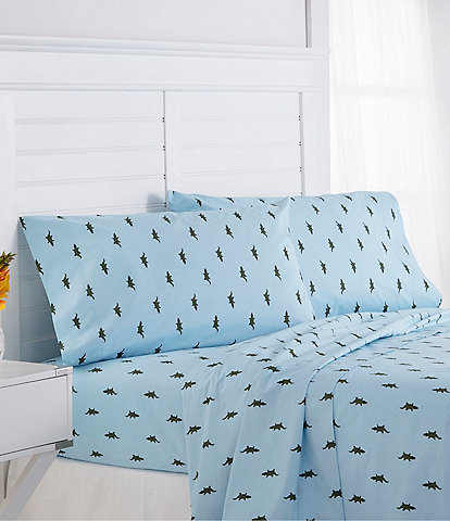 Southern Tide Alligators Print Novelty Sheet Set