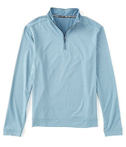 Southern Tide Backbarrier Heather Performance Stretch Quarter-Zip Pullover