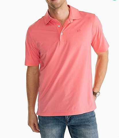 Southern Tide BRRR Driver Performance Stretch Short-Sleeve Polo Shirt