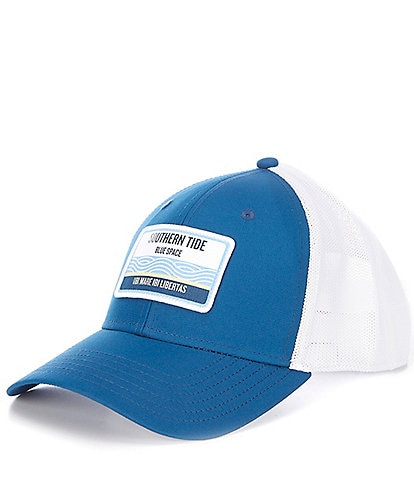 Southern Tide By The Sea Patch Performance Trucker Hat