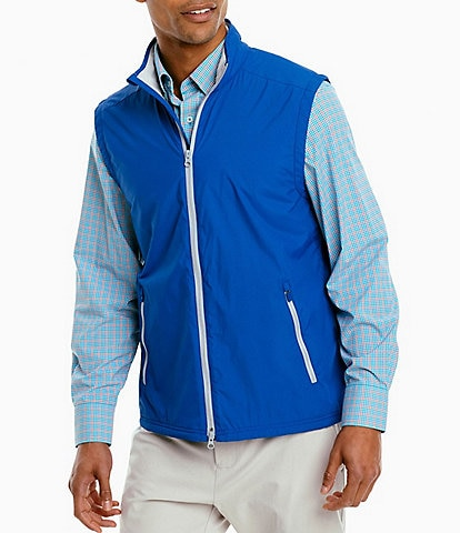 Southern Tide Cas Abo Water-Resistant Full-Zip Vest