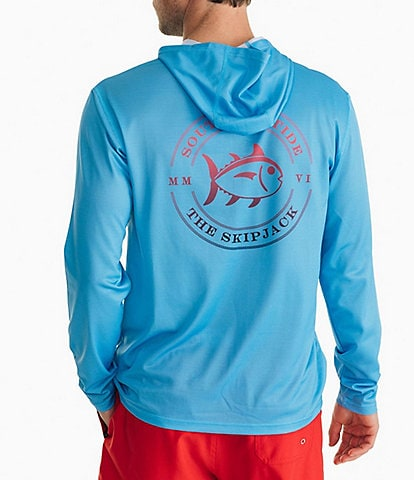 Southern Tide Coastal Skipjack Performance Stretch REPREVE® Recycled Materials Long-Sleeve Hoodie